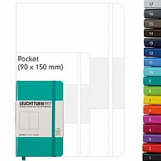 Notizbuch Pocket A6  lila blanko