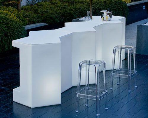 iceberg theke outdoor pedrali. Black Bedroom Furniture Sets. Home Design Ideas